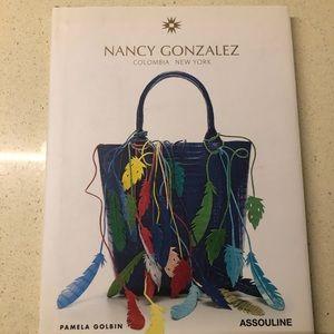 Like new Nancy Gonzales hardcover book!